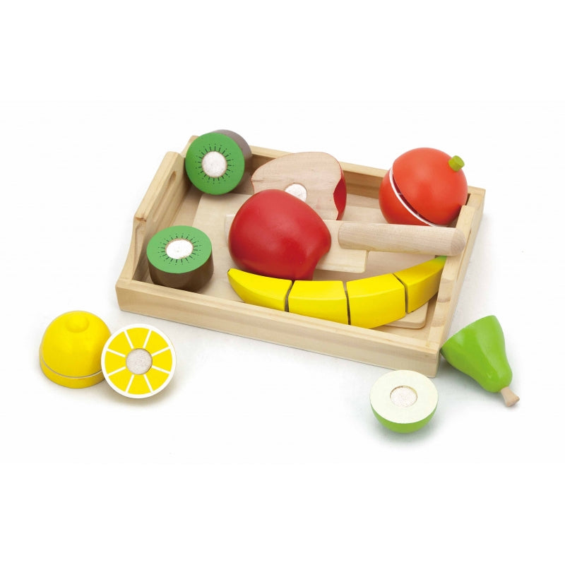 Viga Wooden Cutting Fruit Tray
