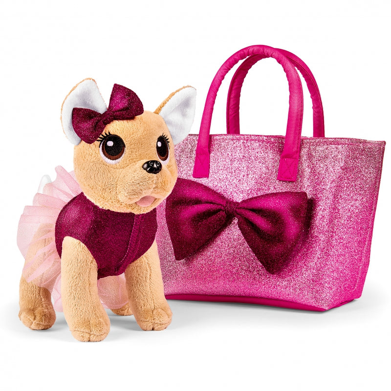 SIMBA Chi Chi Love Puppy In A Fashionable Bow Bag