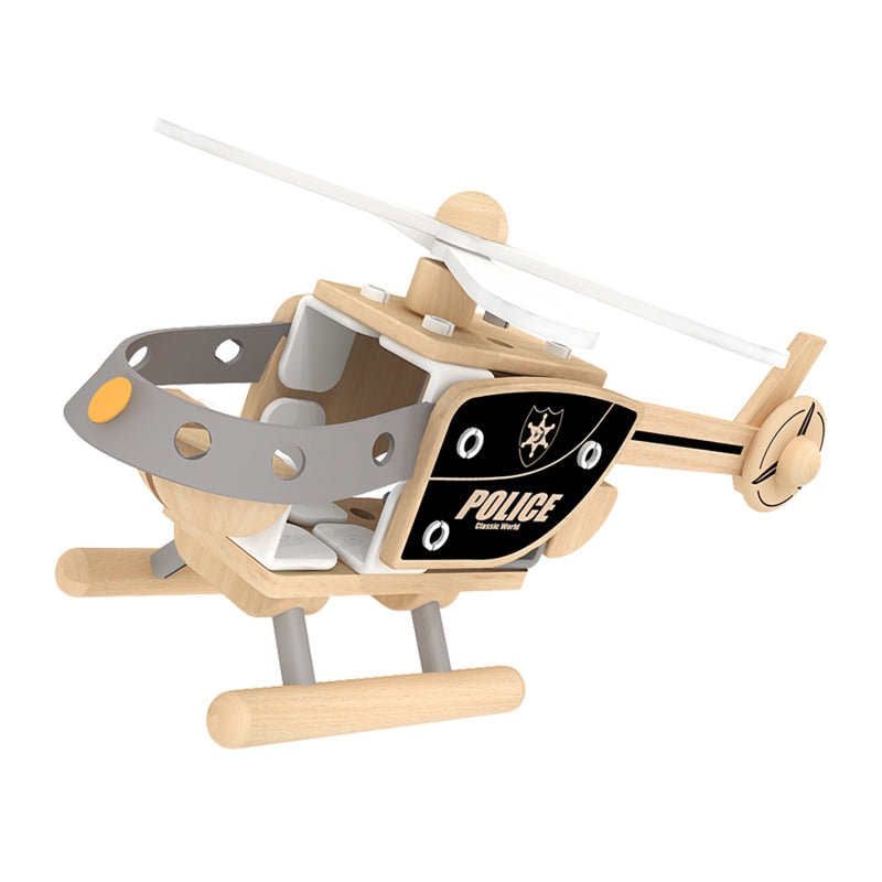 CLASSIC WORLD Construction Blocks Helicopter