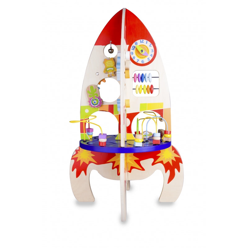 Classic World - Multifunction Wooden Space Ship Rocket