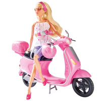 SIMBA Steffi Doll On A Scooter