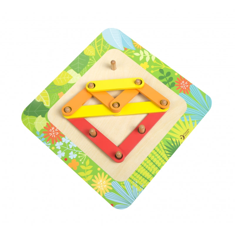CLASSIC WORLD Wooden Learning Puzzle