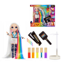 Rainbow 5in1 High Hair Studio With Amaya Raine Doll
