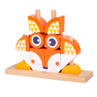 Classic World Wooden Blocks Fox