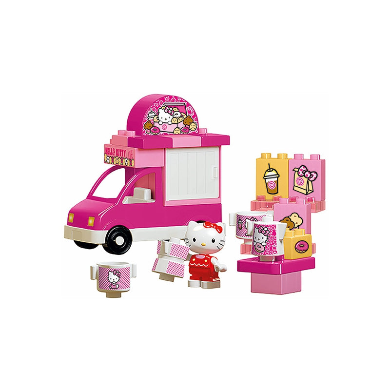 BIG Blocks Hello Kitty Ice Cream Truck - 26 pcs