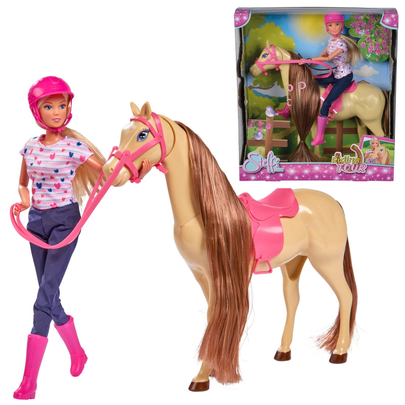 SIMBA Steffi Doll Stable Set