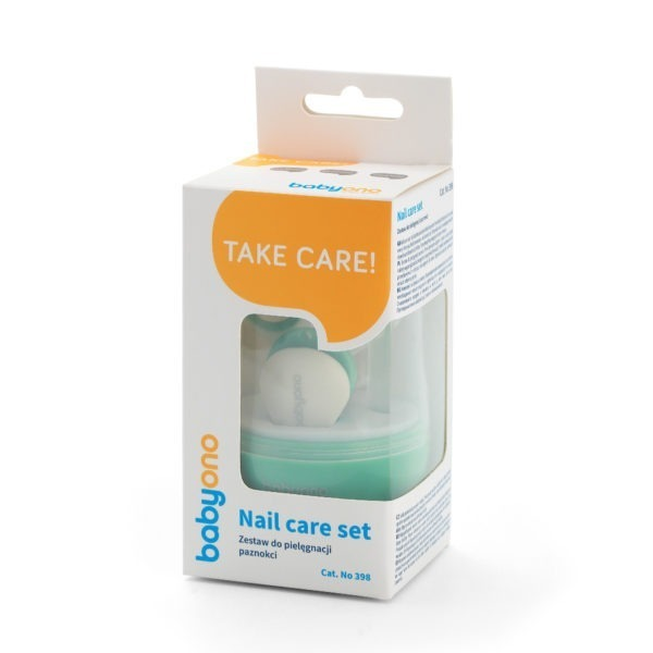 Babyono Nail care set - green