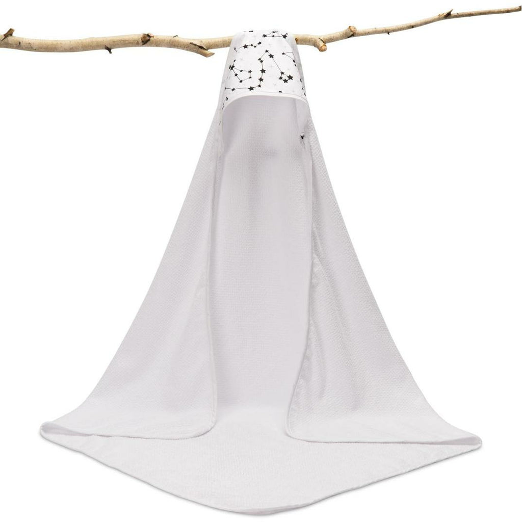 Sensillo Terry Cotton Hooded Bath Towel - Constellation