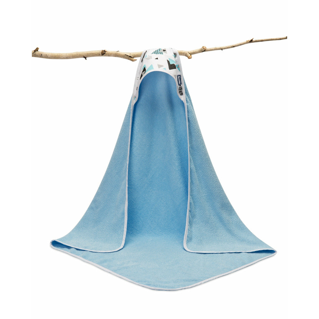 Sensillo Terry Cotton Hooded Bath Towel - Triangle