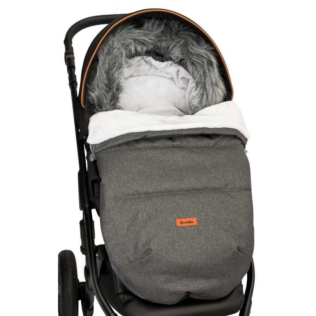NEW! Indiana Winter Footmuff - Graphite