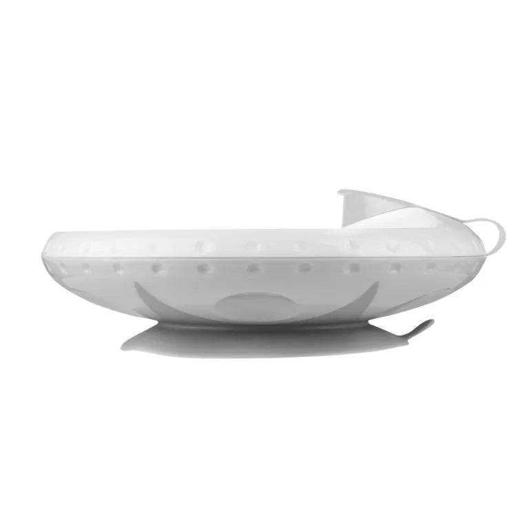 Babyono Food temperature maintaining suction bowl - grey