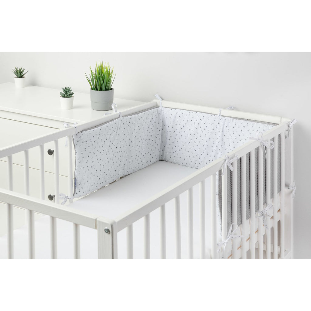 NEW! Breathable double-sided thin cot bumper - Dandelion
