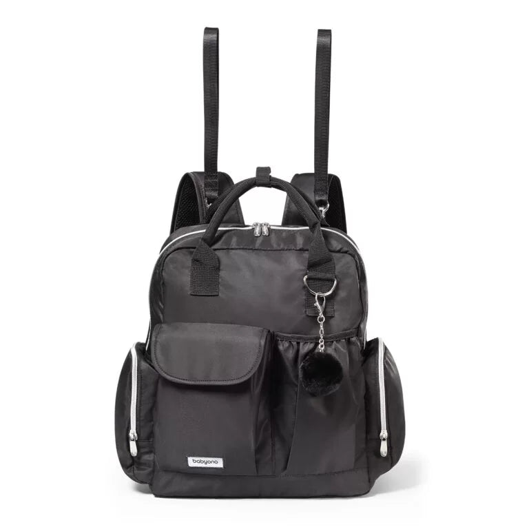 Babyono Changing Backpack - Pram Bag 2in1 - Black