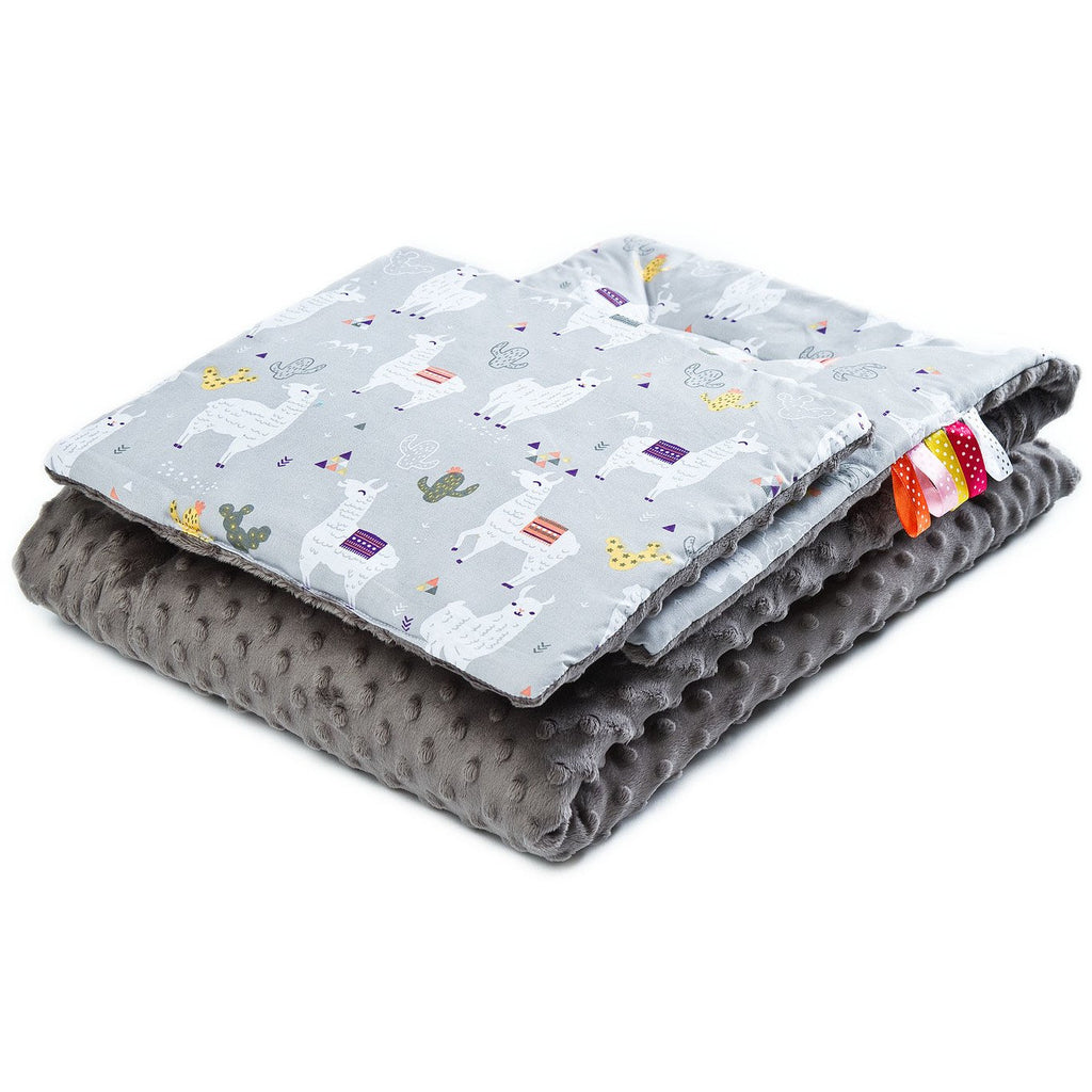 Minky Duvet & Pillow Set - Lamas