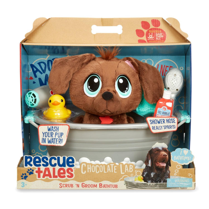 Little Tikes Rescue Pets Scrub 'N Groom