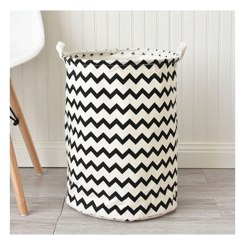 NEW! Storage bin with handles - zig zag