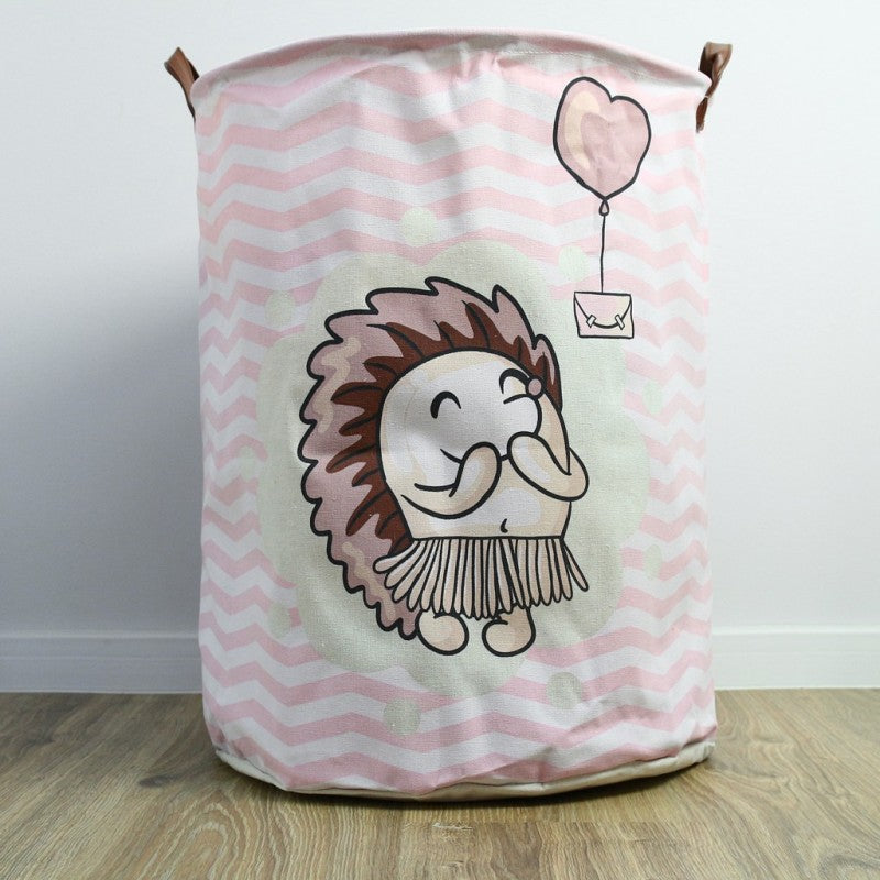 NEW! Storage bin with handles - hedgehog 2