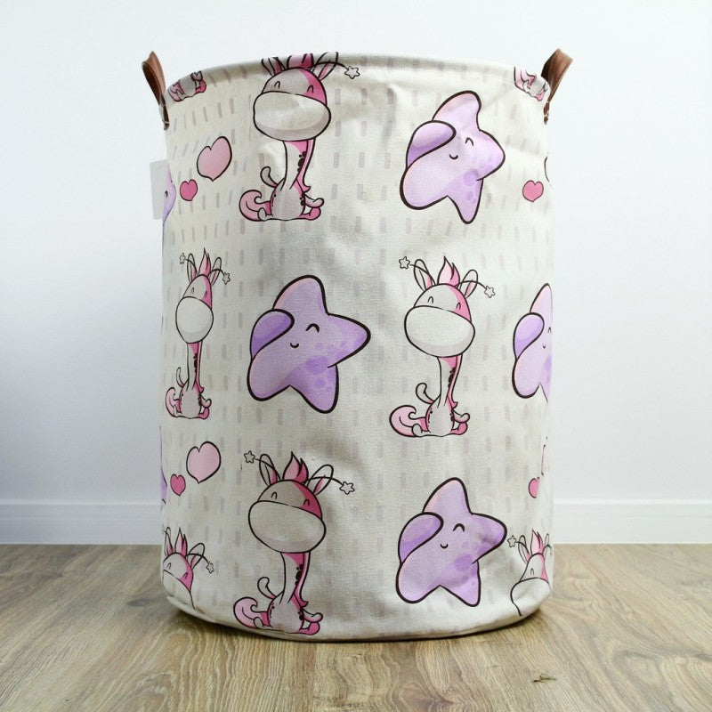NEW! Storage bin with handles - giraffe 1