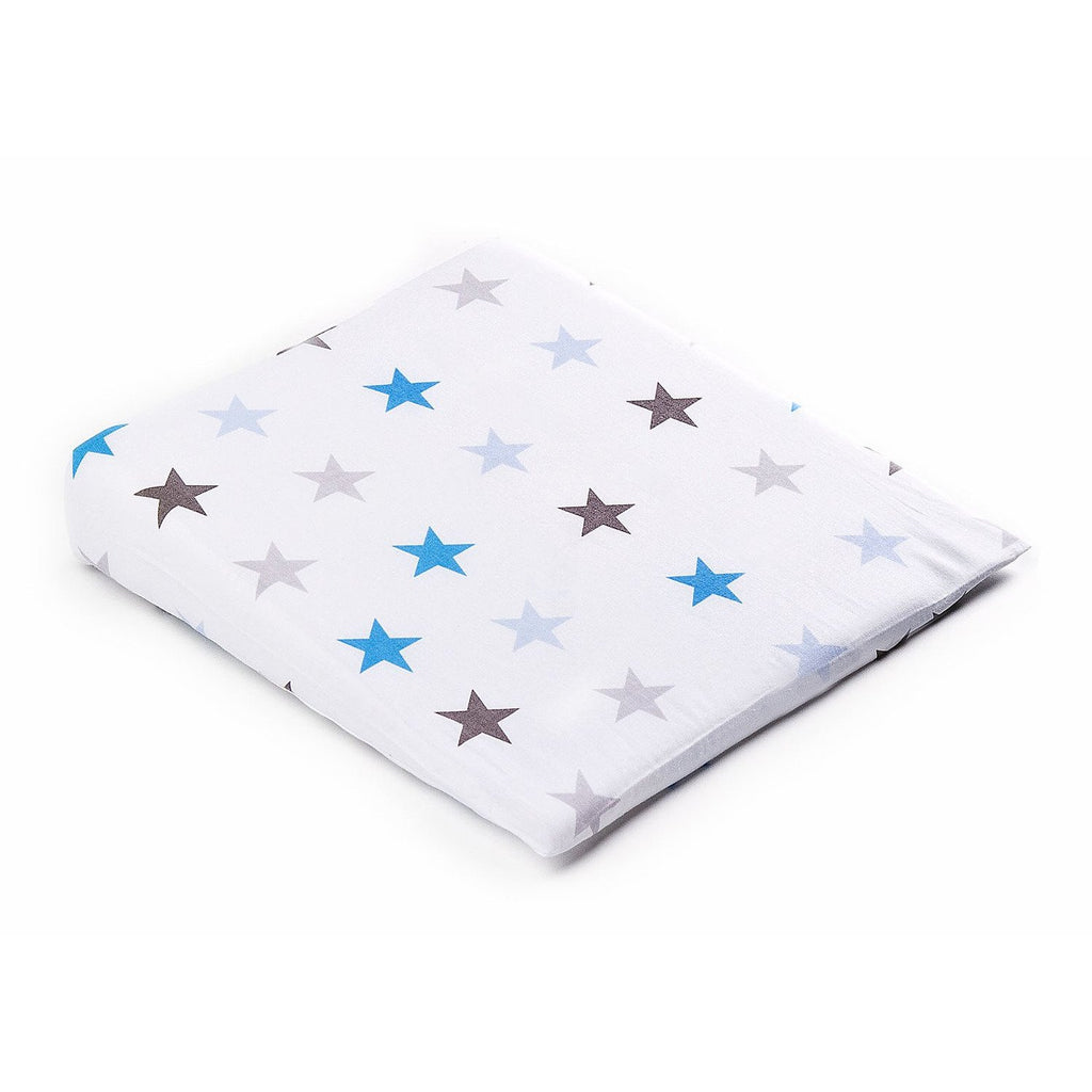 Galaxy Blue Pillow Cover for Sensillo Deluxe Aloe Vera Pram Wedge Pillow 38X30