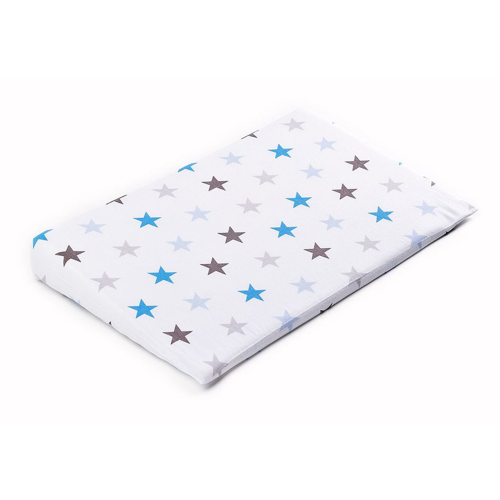 Galaxy Blue Pillow Cover for Sensillo Deluxe Aloe Vera Crib Wedge Pillow 38X60