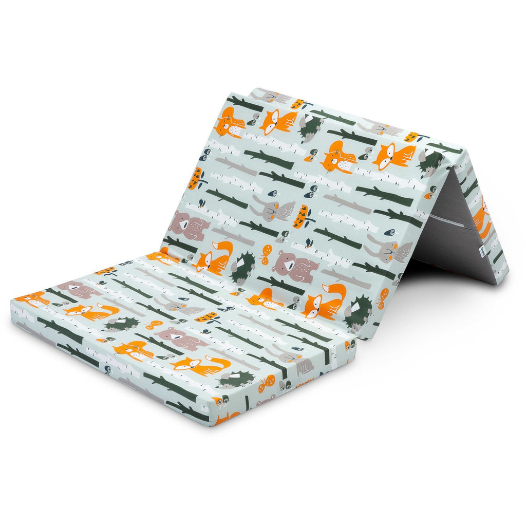 Sensillo Travel Foldable Mattress - Forest Animals
