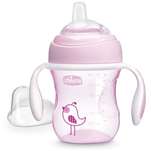 Chicco Pink Transition Cup 4m+