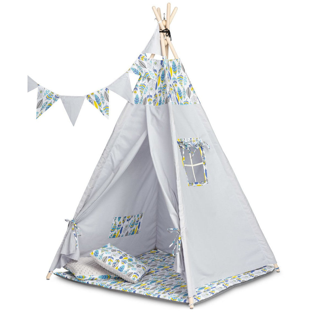 TOYZ Teepee Play Tent - Feathers
