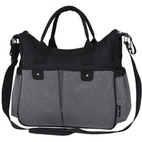 Babyono Smart Mums Bag SO CITY - black