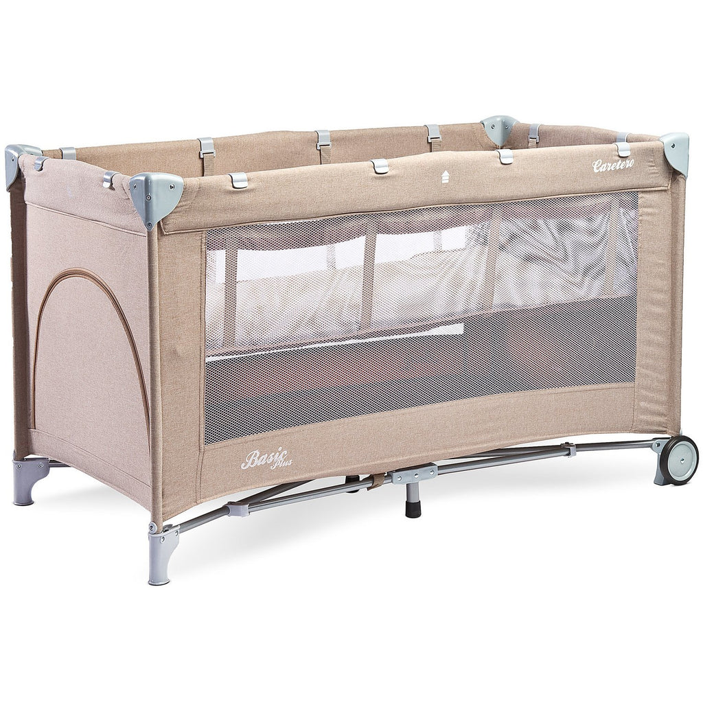 Caretero Basic Plus travel cot - Beige