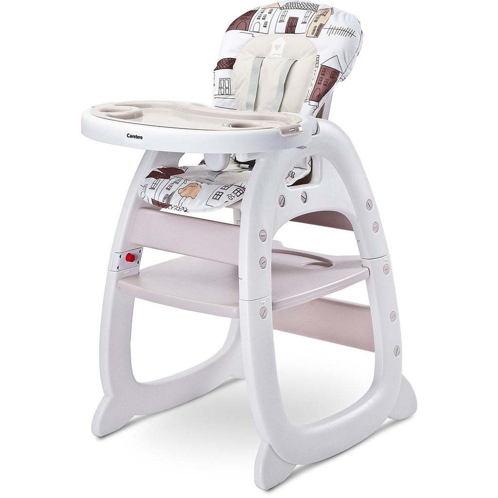 Caretero Highchair / Table Set Homee,  Beige