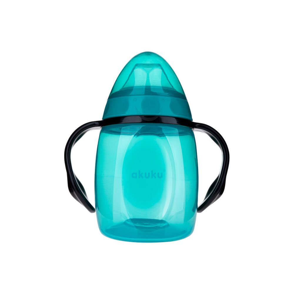 AKUKU Silicone Sippy Cup 9m+ - Blue