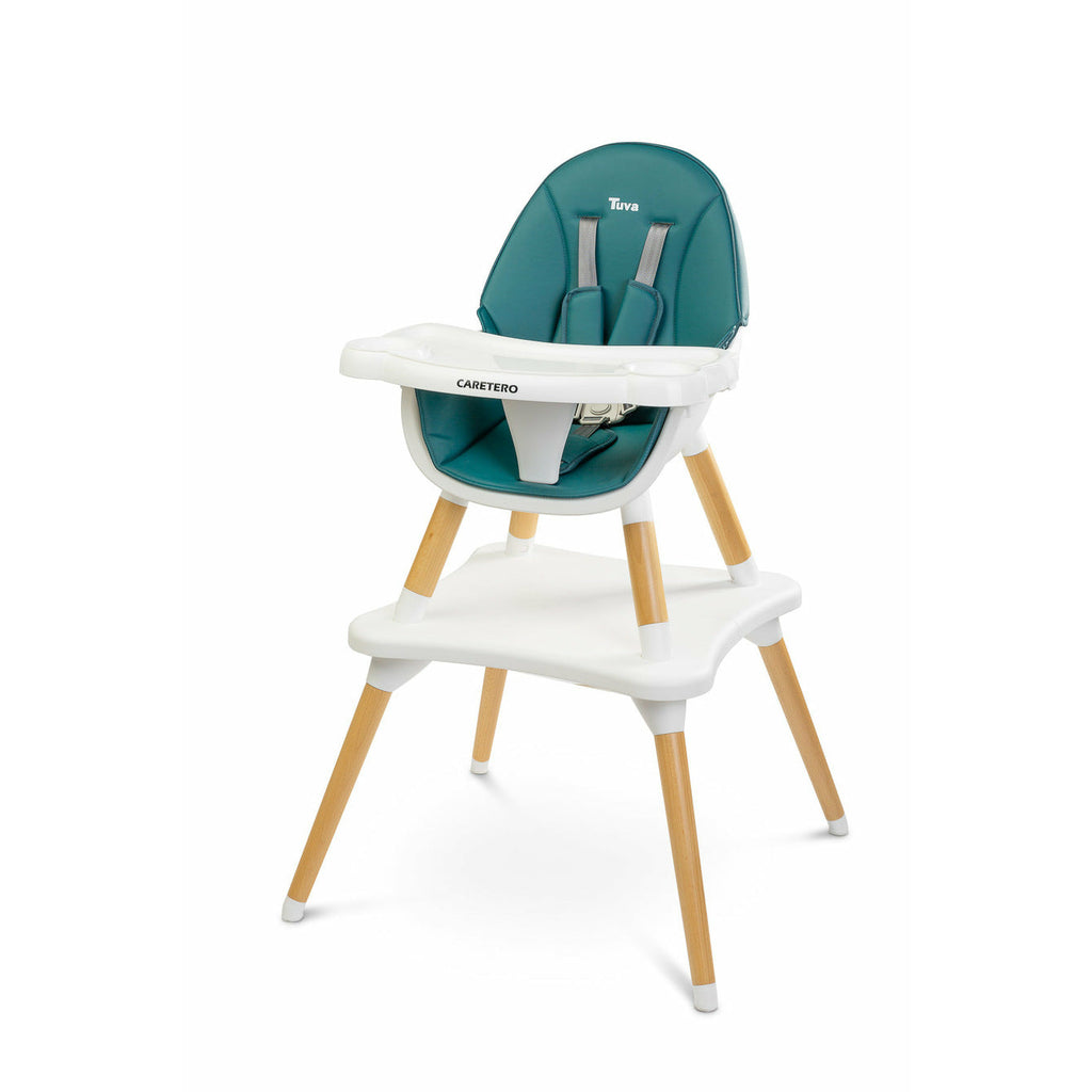 NEW! TUVA Feeding High Chair 2 in 1 - Dark Green