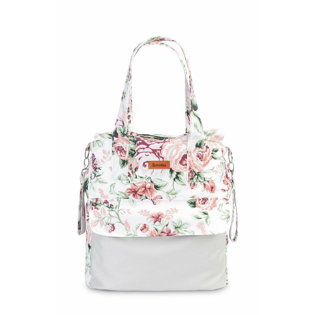 NEW! Sensillo Mums Changing Bag - Flowers