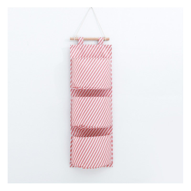 Wall organiser - Pink Stripes