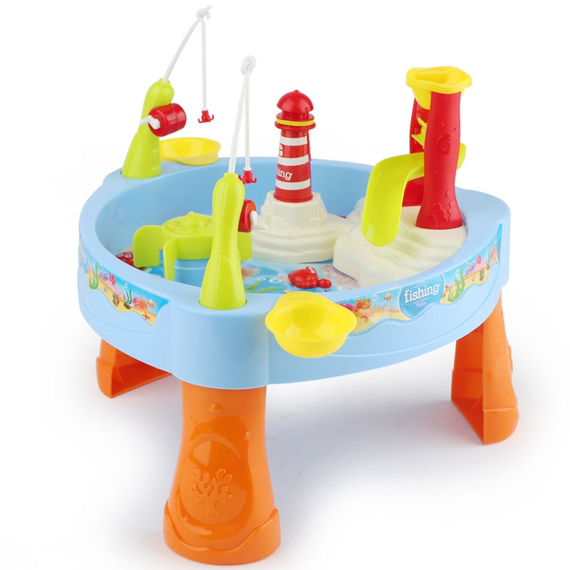 WOOPIE Small Garden Water Table - Fish Catching Game