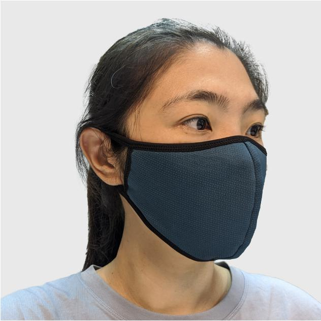 Reversible antimicrobial mask