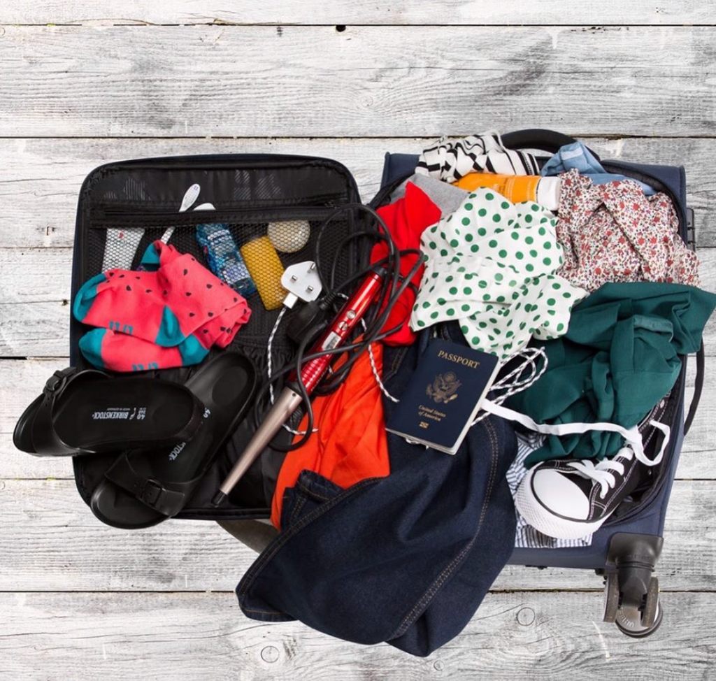 Roll your clothes instead of packing