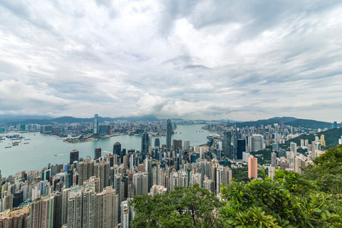 View of Hong Kong from Victoria Peak, Hong Kong Tourist Attractions