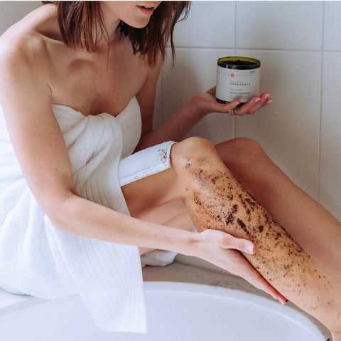 Cardamon-Infused Coffee Scrub (Moderate)