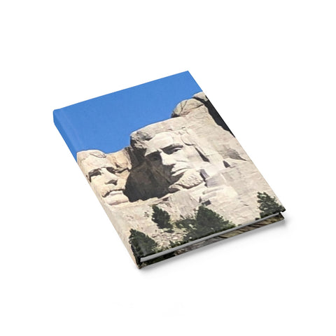 Mount Rushmore Journal - Ruled Line