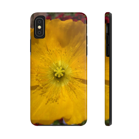 Icelandic Poppy Case Mate Tough Phone Cases
