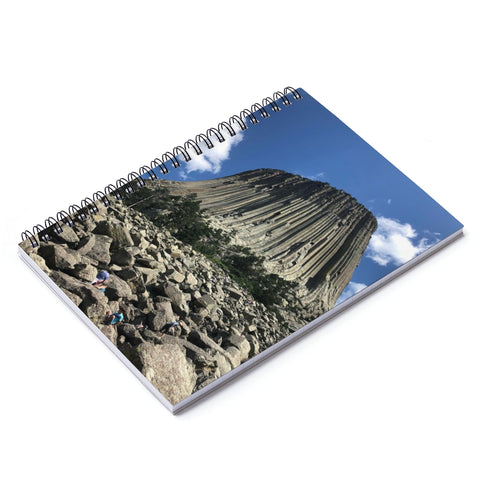 Devil's Tower Spiral Notebook - Ruled Line