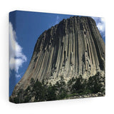 Devil's Tower Stretched canvas