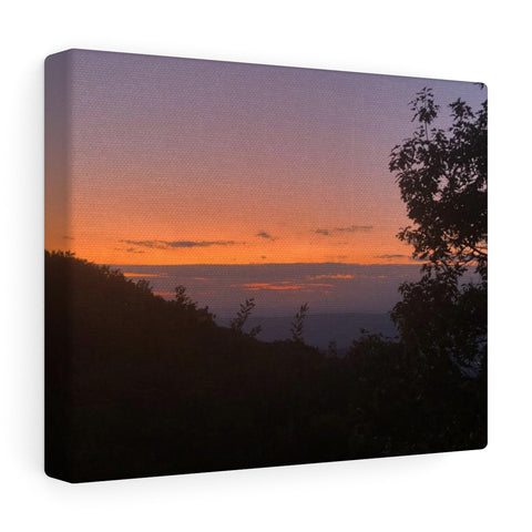 Shenandoah Sunset Canvas Gallery Wraps