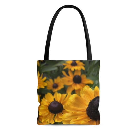 Sweet Black Eyed Susan AOP Tote Bag