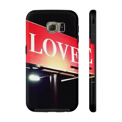 Love Billboard Case Mate Tough Phone Cases
