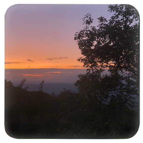 Shenandoah Sunset Coasters