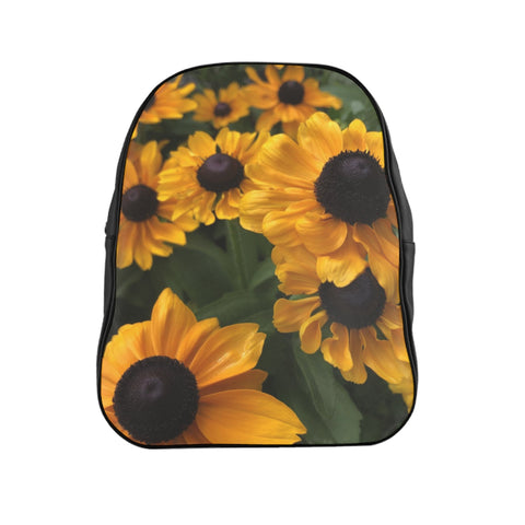 Sweet Black Eyed Susan School Backpack