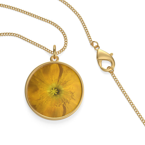 Icelandic Poppy Single Loop Necklace