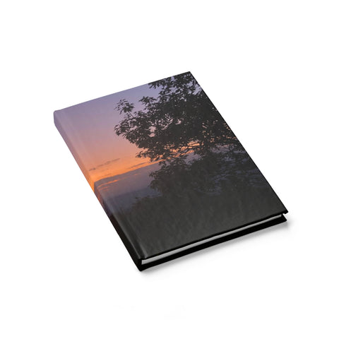 Shenandoah Sunset Journal - Ruled Line